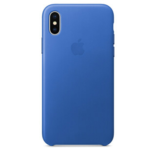 Apple 苹果 iPhone X 原装硅胶手机壳 天蓝色
