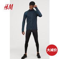 HM男装2020运动裤休闲裤速干透气防风保暖跑步紧身慢跑裤 0224521