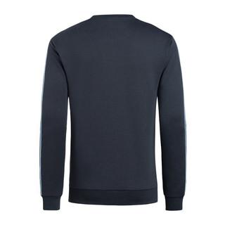GIORGIO ARMANI 乔治·阿玛尼 男士棉质圆领撞色长袖卫衣6HPM03-PJ3MZNAVY-1578 藏青色M
