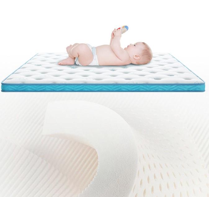 顾家家居 床垫 8cm厚软硬两用乳胶椰棕儿童床垫 M1013 榻榻米高箱床适用 3天发货 180*200*8cm