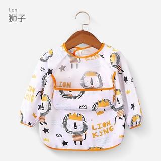 宝宝吃饭罩衣