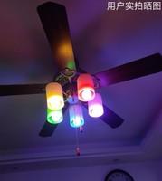 智能LED灯泡音乐调光调色定时开关远程控制出口欧美 *18件