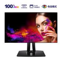 ViewSonic 优派 小黑 VP2468 23.8英寸IPS显示器(100% sRGB、DeltaE<2、Type-C65W)