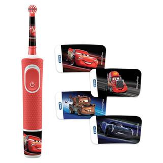 欧乐B(Oralb) 感应式充电 护齿 魔力计时儿童电动牙刷D100Kid 汽车
