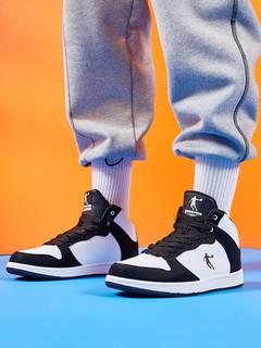 乔丹运动鞋男鞋2020夏季新款白色官方鞋子休闲鞋潮流高帮鞋男板鞋