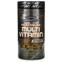 MUSCLETECH 肌肉科技 基础白金版系列 维生素 片剂 90片