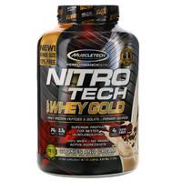 MUSCLETECH 肌肉科技 性能系列 正氮科技 黄金分离乳清蛋白粉 曲奇和奶油味 5.51 磅