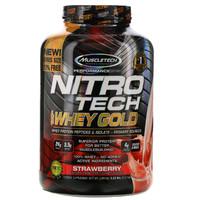 MUSCLETECH 肌肉科技 性能系列 正氮科技 黄金分离乳清蛋白粉 草莓味 5.53 磅