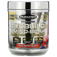 MUSCLETECH 肌肉科技 Pro 系列 支链氨基酸 水果宾治味 332g