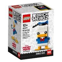 百亿补贴:LEGO 乐高 方头仔系列 40377 唐老鸭