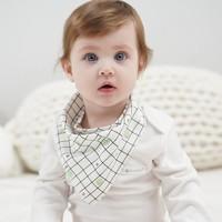 Temami 婴儿口水巾 随机色 3条装 *2件