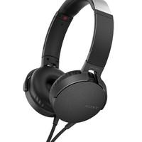 百亿补贴:SONY 索尼 MDR-XB550AP 头戴式耳机