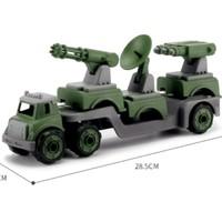 致硕 军事变形组合 送喷水车+运输车