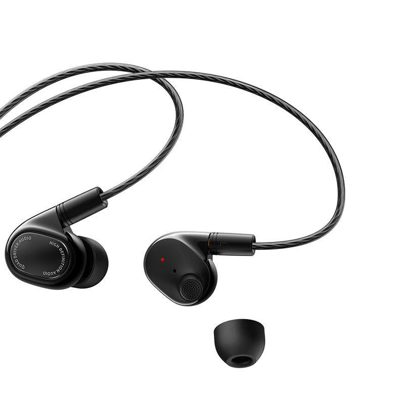 百亿补贴 : MI 小米 QTEJO3WM 四单元圈铁 入耳式蓝牙耳机 黑色