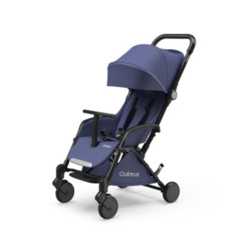 昆塔斯Q1婴儿推车可坐可躺伞车轻便折叠BB车可登机童车 Q1-Tody 丹宁蓝