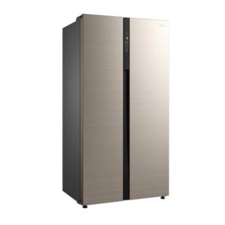 Midea 美的 BCD-541WKPZM(E) 风冷对开门冰箱 541L 金色
