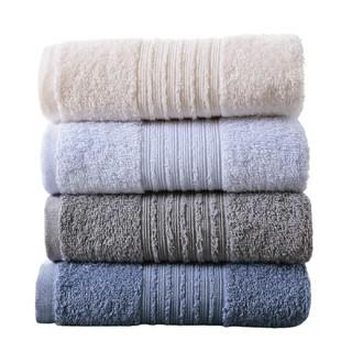 純棉毛巾 四條裝