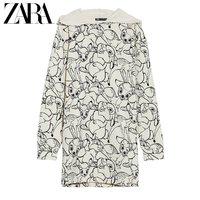 ZARA 00085056721 迪士尼小鹿斑比©印花连衣裙