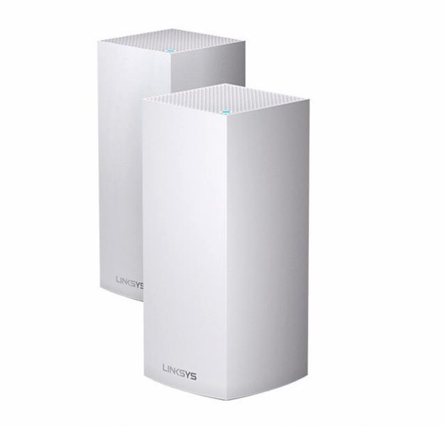 LINKSYS 领势 MX4200 4200M 千兆三频 WiFi 6 分布式路由器 白色 两个装
