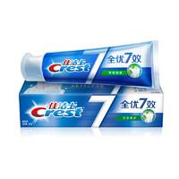 Crest 佳洁士 全优七效系列全优7效茶香清新牙膏 120g