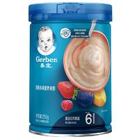 Gerber 嘉宝 婴儿水果高铁米粉 2段 250g