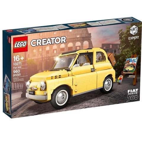 考拉海购黑卡会员:LEGO 乐高 创意百变高手系列 10271 菲亚特 Fiat 500