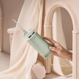 素士冲牙器/水牙线/洁牙机 非电动牙刷抽拉式便携洗牙器 小米生态W1卢浮宫联名礼盒