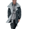 BOSIDENG 波司登 星战系列男士灰鸭绒拉链立领中长款羽绒服B90142755D