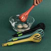 多功能打蛋夹家用厨房搅拌打蛋夹菜二合一打蛋器手动捞面条夹抓勺