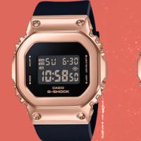 CASIO 卡西欧 G-SHOCK系列 GM-S5600 女士电子手表