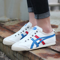 Onitsuka Tiger 鬼塚虎 MEXICO 66 SLIP-ON D3K0N 男女休闲鞋