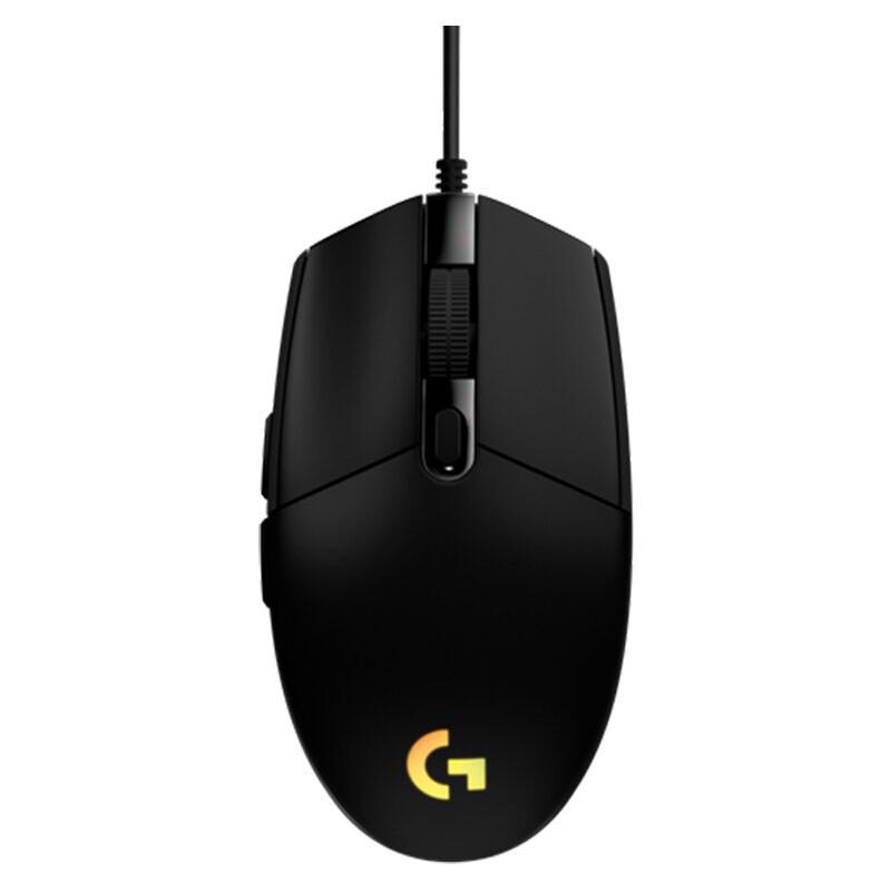 Logitech 罗技 G102 二代 有线鼠标  8000DPI  RGB 黑色