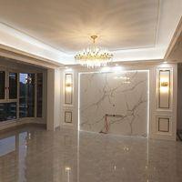 全铜后现代轻奢吊灯港式水晶客厅灯北欧风格卧室简约家用餐厅灯具