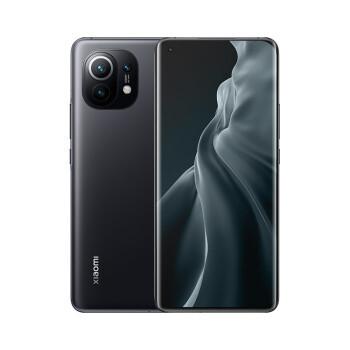 小米11 5G 骁龙888 2K AMOLED四曲面柔性屏 1亿像素 55W有线闪充 50W无线闪充 12GB+256GB 黑色 游戏手机