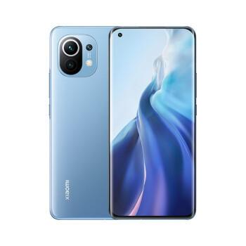 京东PLUS会员:MI 小米11 5G智能手机 蓝色 套装版(赠充电器) 8GB 256GB