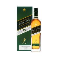 88VIP:JOHNNIE WALKER 尊尼获加 绿牌15年苏格兰威士忌 750ml