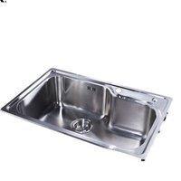 KOHLER 科勒 K-77160-2S-NA 不锈钢水槽台上厨盆(单槽)