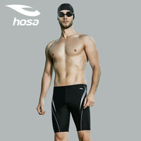 hosa 浩沙 115141531 男士及膝五分平角泳裤