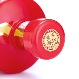 贵州茅台醇2008柔和酱香型白酒53度高度纯粮食酒 酒水旗舰店 500ml单瓶 礼盒装 *2件+凑单品