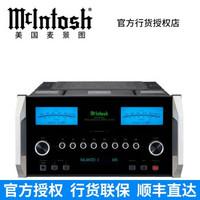 McIntosh/麦景图MA9000 USB兼容旗舰级合并式功放 美国功率放大器 黑色