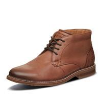 SKECHERS 斯凯奇 66405-COG 男士绑带休闲皮鞋