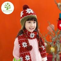 kocotree KK树 儿童帽子围巾保暖2件套