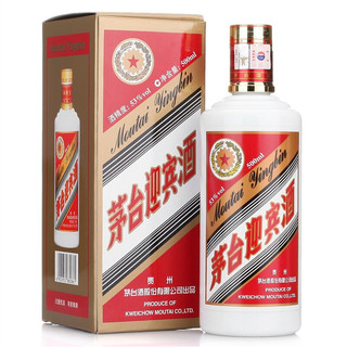 MOUTAI 茅台 茅台迎宾酒 53%vol 酱香型白酒 500ml*6瓶 整箱装