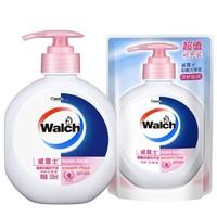 Walch 威露士 健康抑菌洗手液 525ml+补充装 250ml