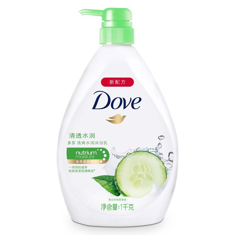 Dove 多芬 清爽水润系列清透水润沐浴乳 1kg