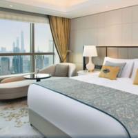 上海静安瑞吉酒店 豪华大床房 1晚 含单早