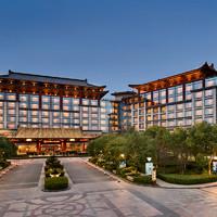 限时享住2送1!桂林香格里拉大酒店 豪华客房2晚(含2大1小早餐+下午茶+亲子活动)