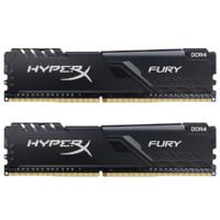 Kingston 金士顿 Fury系列 骇客神条 DDR4 2666MHz 台式机内存 32GB (16GBx2)HX426C16FB3K2/32