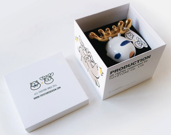 UCCA Store12个月款梦鹿创意摆件 装饰品 陶瓷 礼物 一月鹿