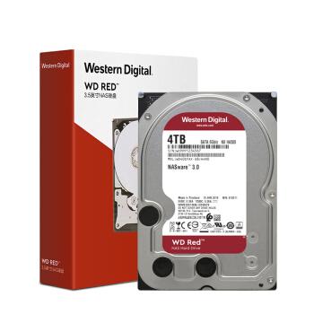 Western Digital 西部数据 西部数据(WD)红盘 4TB SATA6Gb/s 256M 网络储存(NAS)硬盘(WD40EFAX)